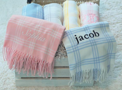 WINDOW PANE BABY THROW - Out of the Box NY Gifts