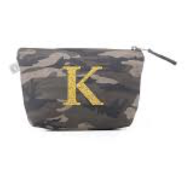MAKEUP BAG OR CLUTCH WITH MONOGRAM/NAME - Out of the Box NY Gifts
