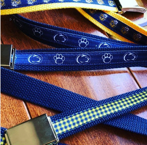 COLLEGE BELTS - Out of the Box NY Gifts