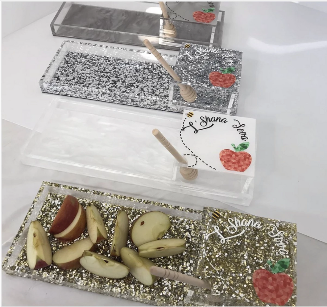 APPLES & HONEY TRAY - Out of the Box NY Gifts