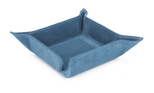 HARRY SUEDE VALET TRAY - Out of the Box NY Gifts
