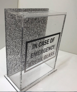 CUSTOM ACRYLIC BANK - Out of the Box NY Gifts