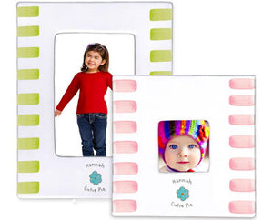 CERAMIC PICTURE FRAME -  CUTIE PIE - Out of the Box NY Gifts