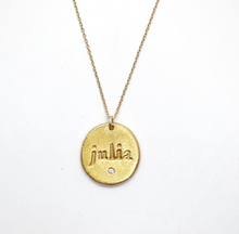 CUSTOM NAME CHARM NECKLACE - Out of the Box NY Gifts