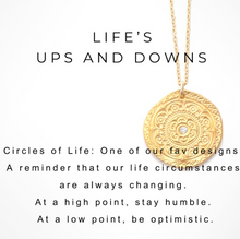 CIRCLE OF LIFE NECKLACE - Out of the Box NY Gifts
