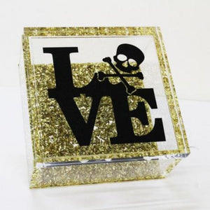 LOVE/SKULL BOX - Out of the Box NY Gifts