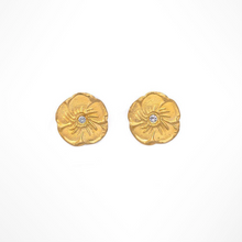 MAGNOLIA DIAMOND STUD EARRINGS - Out of the Box NY Gifts