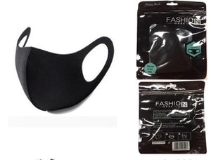 BLACK SPANDEX FACE MASK - Out of the Box NY Gifts
