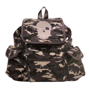 QUILTED KOALA CANVAS BACKPACK W/ EMBELLISHMENT - Out of the Box NY Gifts