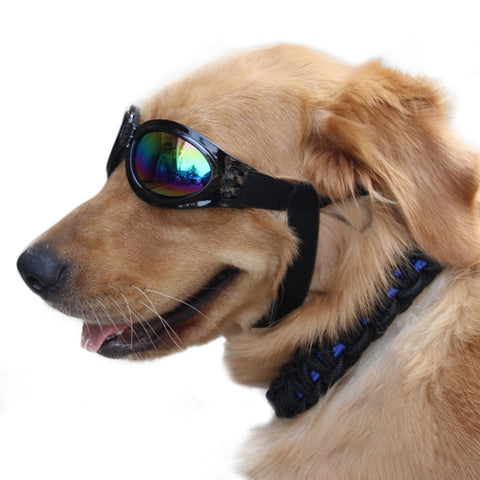 Foldable Pet Dogs (M/L) Waterproof UV Protection Sunglasses