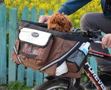 Bicycle Carrier Bag Seat For Small Dogs