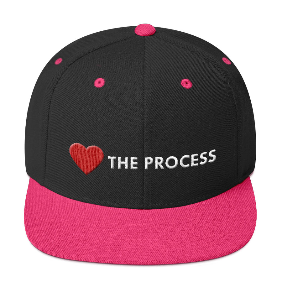 Love The Process Remix Snapback Hat - Grind State University