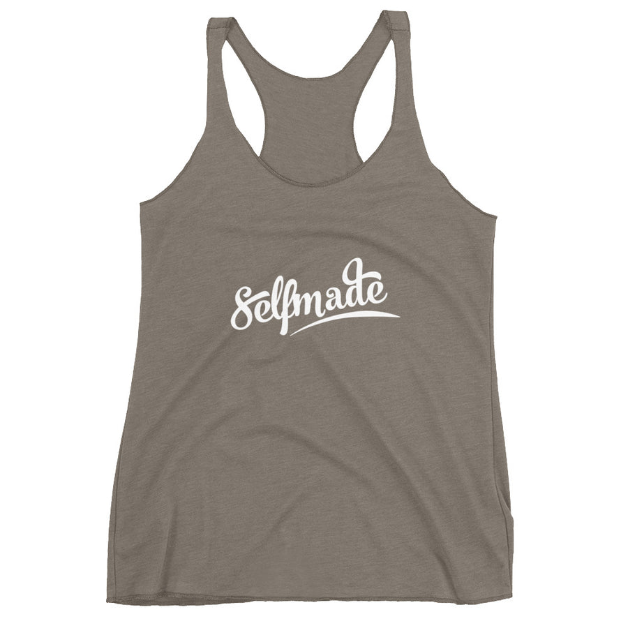 Self Made Vol 5. Women's Racerback Tank - Grind State University