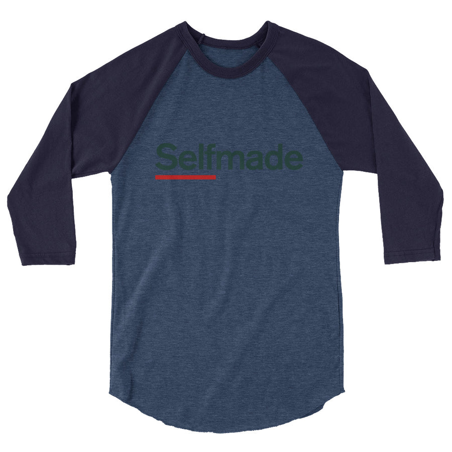 SelfMade Vol 2. 3/4 sleeve raglan shirt - Grind State University