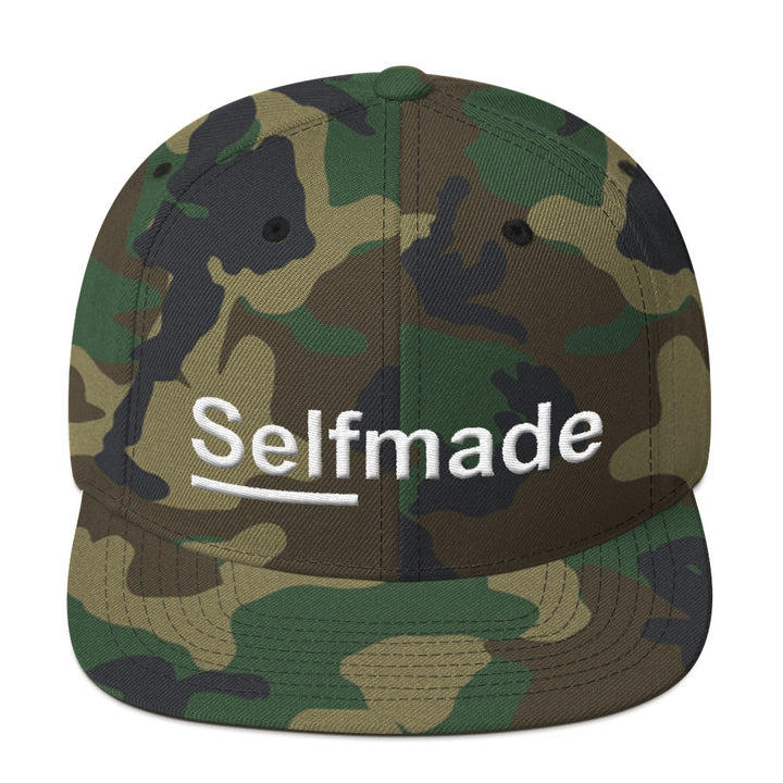 Self Made Vol 2. Camo Snapback Hat - Grind State University