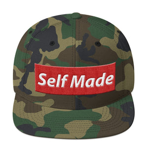 Self Made Vol 1. Camo Snapback Hat - Grind State University