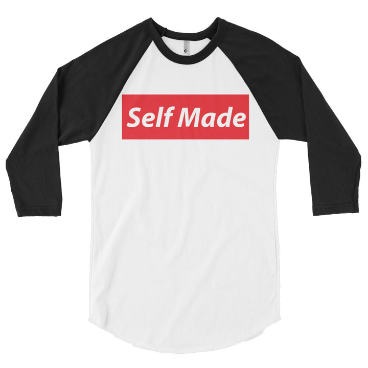 Self Made Vol 2. 3/4 sleeve raglan shirt - Grind State University