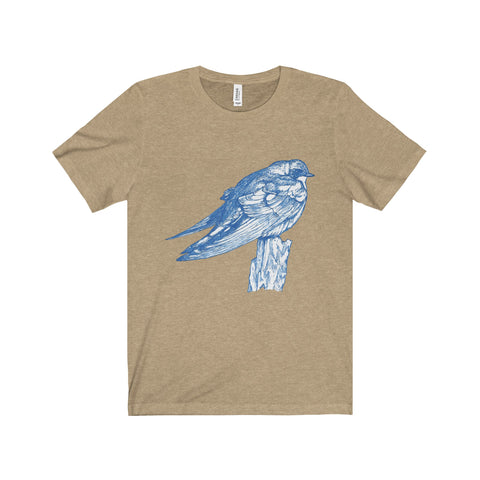 Tree Sentry - Unisex Tee Printify - Natural Lynx