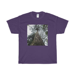 Forest Giant - Heavy Cotton T-Shirt Printify - Natural Lynx