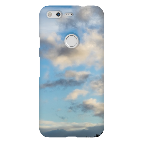 Evening Blue Sky Pixel Phone Cases Natural Lynx - Natural Lynx