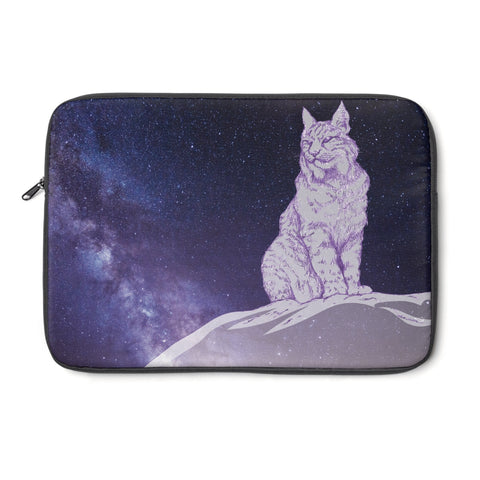 Surveyor of Dreams Lynx - Laptop Sleeve Printify - Natural Lynx