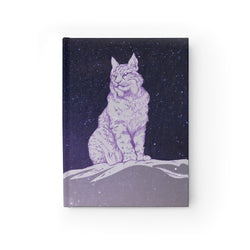 Surveyor of Dreams Lynx - Journal - Ruled Line Printify - Natural Lynx