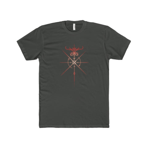 Sigil of the Crossroads Men's Premium Fit Crew T-Shirt Printify - Natural Lynx