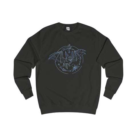 Bat Glyph Sweater Printify - Natural Lynx