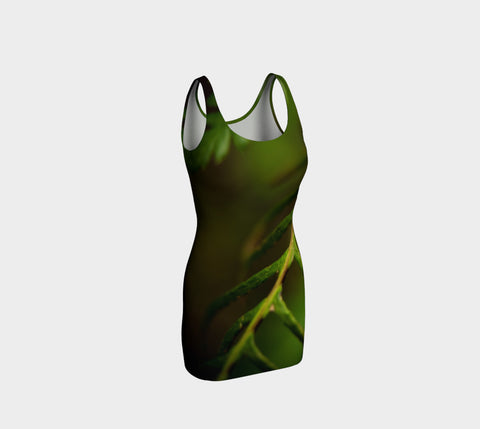 Fern Delight Bodycon Dress Natural Lynx - Natural Lynx