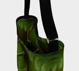 Fern Delight Bag with Seat Belt Strap Natural Lynx - Natural Lynx