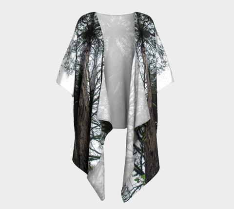 Forest Giant Draped Kimono Natural Lynx - Natural Lynx