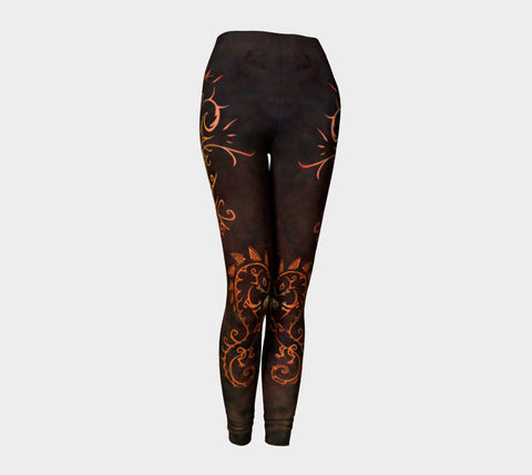 Fire Spirit Leggings Natural Lynx - Natural Lynx