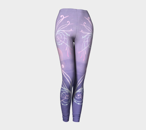 Nautilus Sunset Leggings Natural Lynx - Natural Lynx