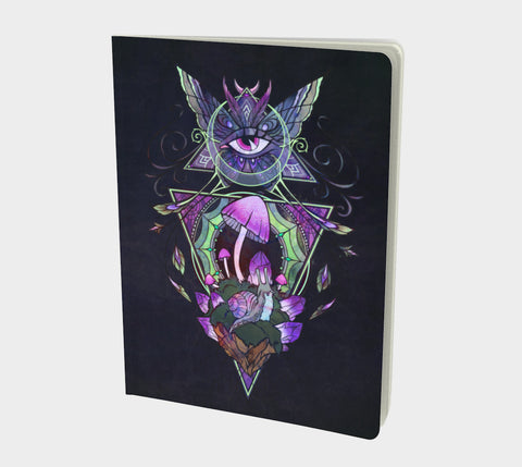 Eye of the Mystic Notebook Natural Lynx - Natural Lynx