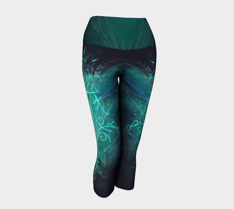Sigil of Fitness Yoga Capris Natural Lynx - Natural Lynx