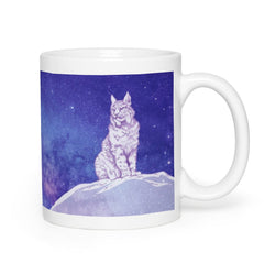 Surveyor of Dreams Lynx - Mug 11 & 15oz Natural Lynx - Natural Lynx