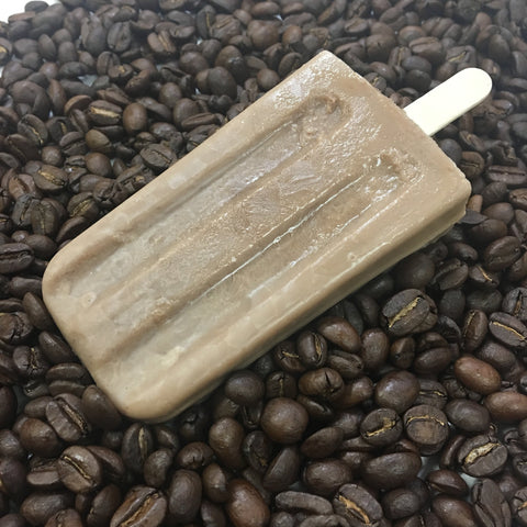 cold brew coffee popsicle