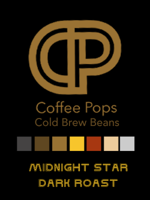 CP Cold Brew Coffee Beans - Midnight Star Dark Roast