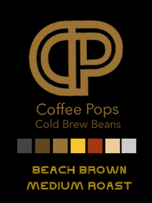 CP Cold Brew Coffee Beans - Beach Brown Medium Roast