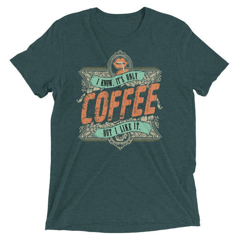 It's Only Rock and Roll Coffee Men's Short sleeve t-shirt