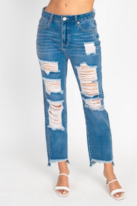 Mom Jeans {medium blue}