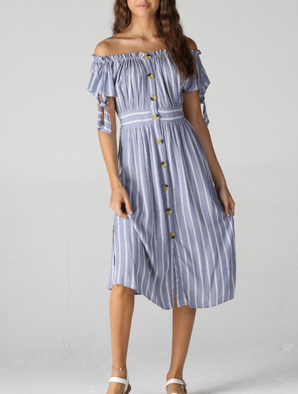Laurie Dress {stripe}