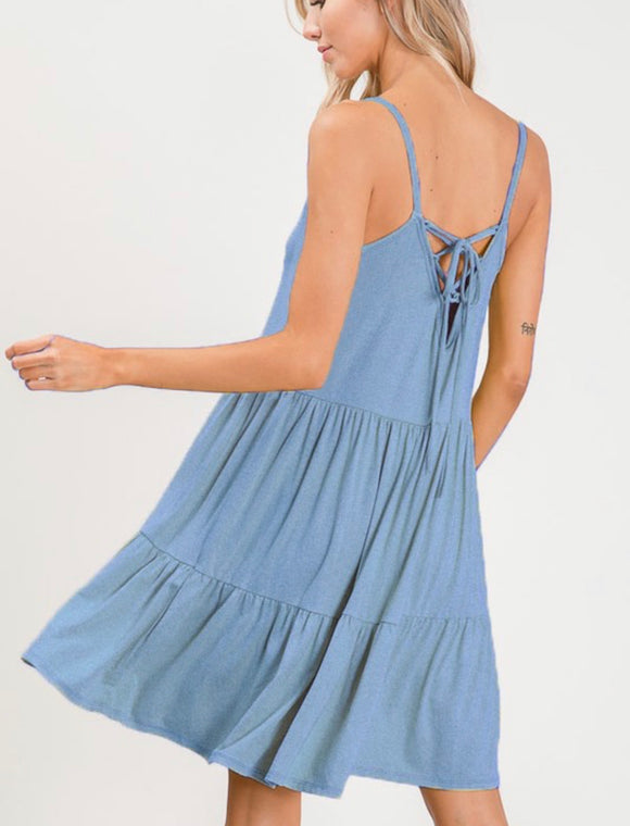 Dawn Dress {light blue}