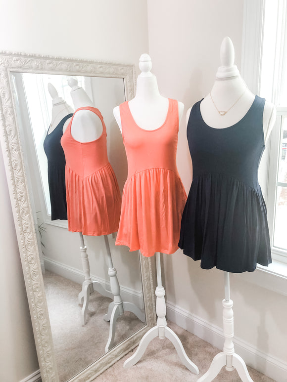 Candace Top {coral or navy}