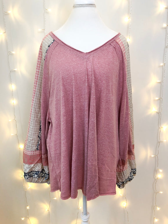 Hope Top [Plus] {blush}