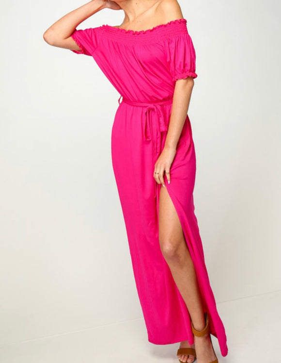 DJ Dress {hot pink}