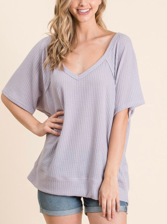 Dylan Top {lavender & Plus}