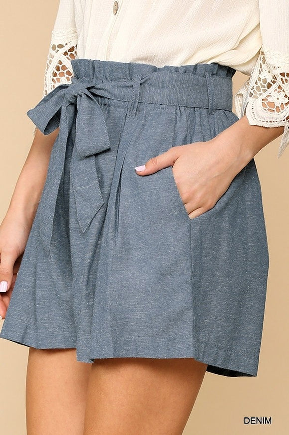 Penelope Shorts {light denim}