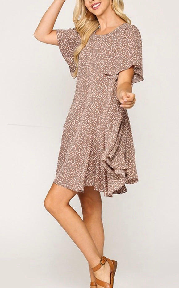 Bree Dress {mauve}