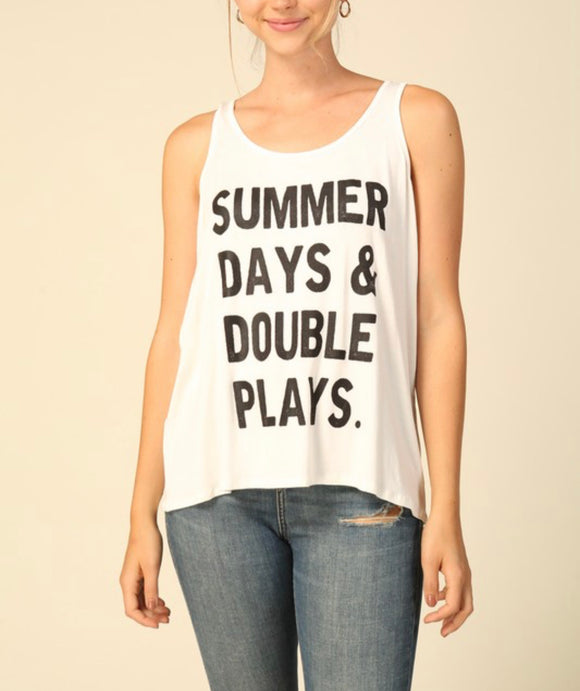 Double Plays Tank {off white}